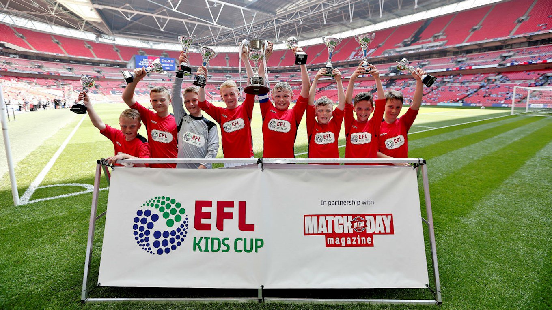 EFL Kids Cup Morecambe Crowned Champions At Wembley