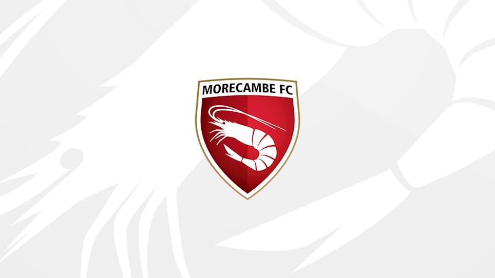 Academy News - Morecambe