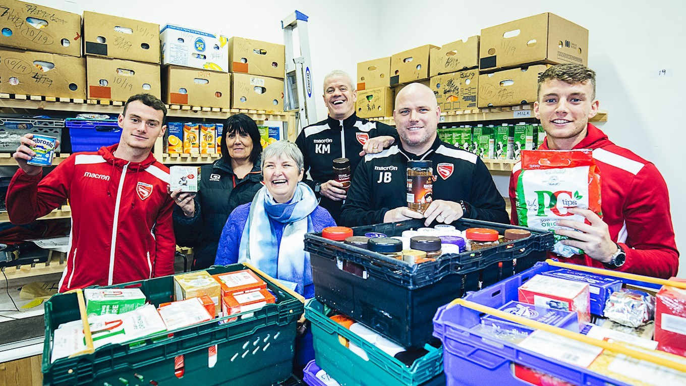 Supporters Thanked For Foodbank Generosity News Morecambe