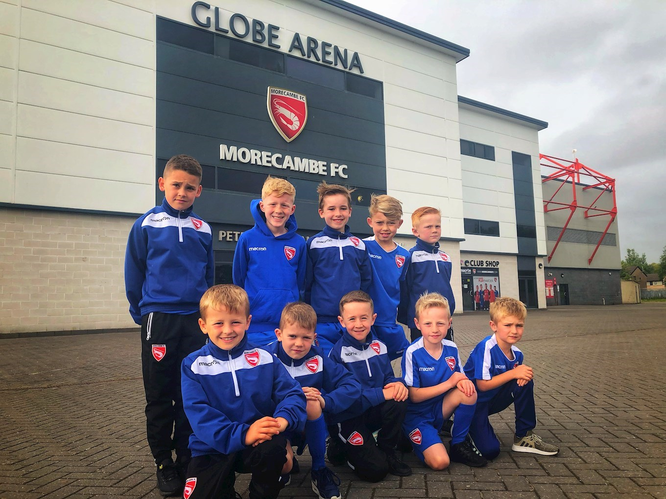 ACADEMY WELCOMES YOUNG SHRIMPS - News - Morecambe