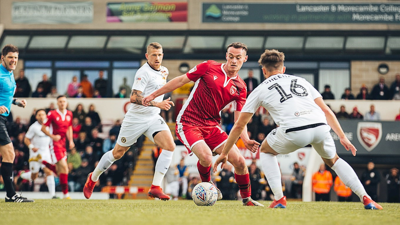 BOSS WISHES MANDEVILLE WELL AFTER CHESTERFIELD MOVE - News - Morecambe