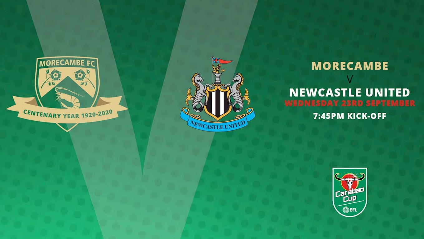 Morecambe - Newcastle United  (Carabao Cup) 0 : 7 Large
